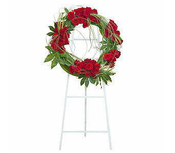 Royal Wreath in Stamford CT, NOBU Florist & Events