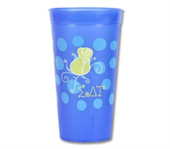 Sigma Delta Tau Tumbler in Lawrence KS, Owens Flower Shop Inc.