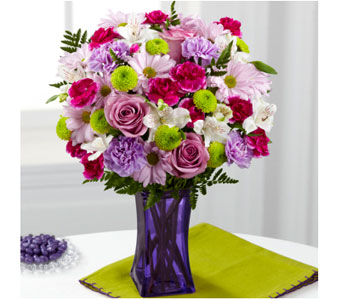 Purple Pop in Baltimore MD, Raimondi's Flowers & Fruit Baskets