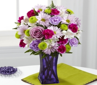 Purple Pop Bouquet in Noblesville IN, Adrienes Flowers & Gifts