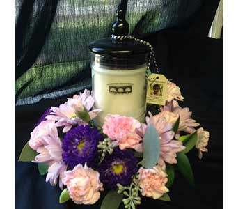 Sm. Bridgewater Jar Candle in Versailles KY, Bel-Air Florist