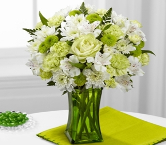 Lime-Licious Bouquet in Noblesville IN, Adrienes Flowers & Gifts