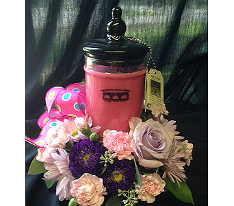 Lg. Bridgewater Jar Candle in Versailles KY, Bel-Air Florist