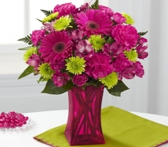 Raspberry Sensation Bouquet in Noblesville IN, Adrienes Flowers & Gifts