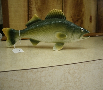 Walleye Fish Figure in Ionia MI, Sid's Flower Shop