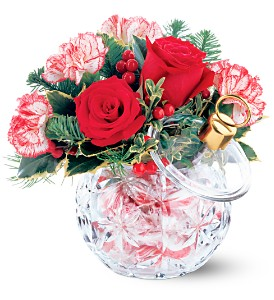 Teleflora's Crystal Ornament Bouquet in Campbell CA, Bloomers Flowers