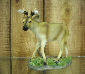 Small Whitetail Deer Figurine in Ionia MI, Sid's Flower Shop