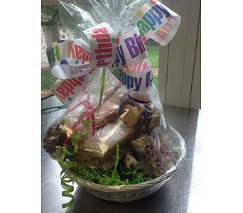 Sweet Treat Basket in Versailles KY, Bel-Air Florist