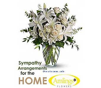 Sympathy Arrangement for the Home or Service in Chicagoland IL, Amling's Flowerland