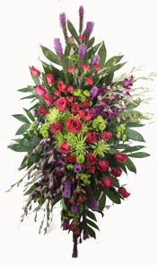 Youthful Remembrance Deluxe Standing Spray in Denver CO, Lehrer's Flowers