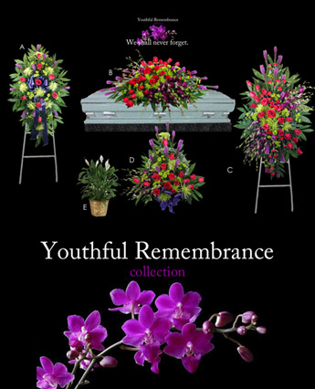Lehrer's Youthful Remembrance in Denver CO, Lehrer's Flowers