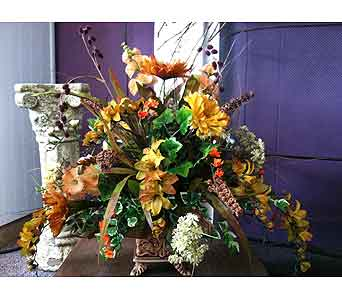 Fall Centerpiece in Creedmoor NC, Gil-Man Florist Inc.
