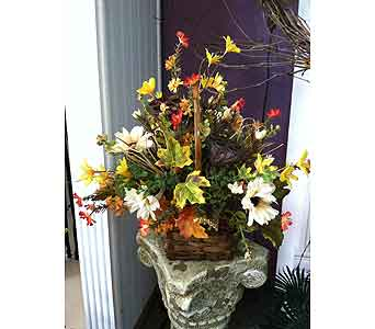 Fall Basket in Creedmoor NC, Gil-Man Florist Inc.