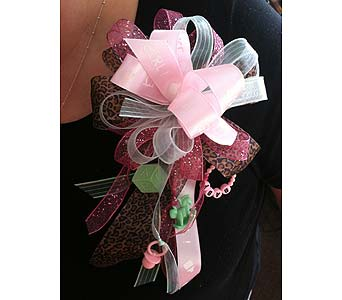 Baby Girl Ribbon Corsage in Creedmoor NC, Gil-Man Florist Inc.