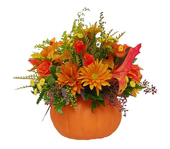Perfect Pumpkin Posies in Princeton, Plainsboro, & Trenton NJ, Monday Morning Flower and Balloon Co.