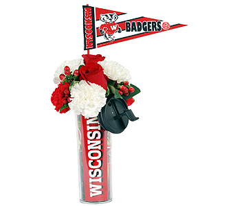 Go Badgers in Madison WI, Felly's Flowers