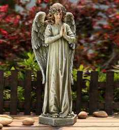 STANDING PRAYING ANGEL in Oxford MI, A & A Flowers