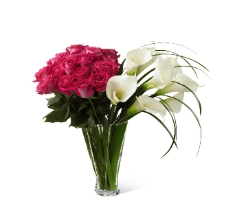Irresistible Luxury Rose & Calla Lily Bouquet in Ogden UT, Lund Floral