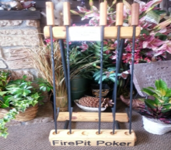 FirePit Poker in Isanti MN, Elaine's Flowers & Gifts