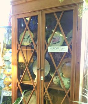 WOOD LATTICE HUTCH in Oxford MI, A & A Flowers