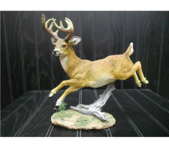Leaping Deer Figure in Ionia MI, Sid's Flower Shop
