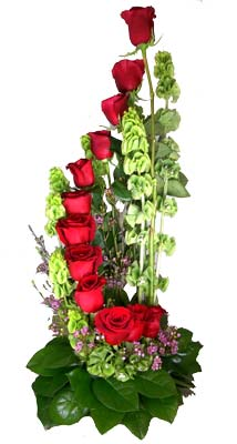 Steps to Heaven (red) in Fort Myers FL, Fort Myers Florist, Inc.