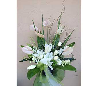 Sympathy Arrangement in Sunnyvale CA, Flowers By Sophia