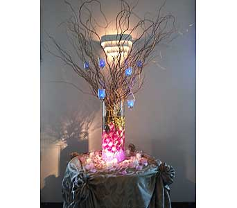 Orchids & Lights in Manhasset NY, Town & Country Flowers