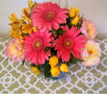 Peppy Pink in Asheville NC, Kaylynne's Briar Patch Florist, LLC