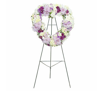 Sweetheart Standing Spray in Chesterton IN, The Flower Cart, Inc