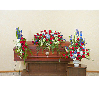 Honor Trio in Hastings NE, Bob Sass Flowers, Inc.