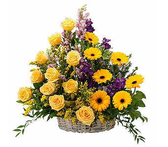 Vivid Memories Basket Tribute in Schaumburg IL, Deptula Florist & Gifts, Inc.