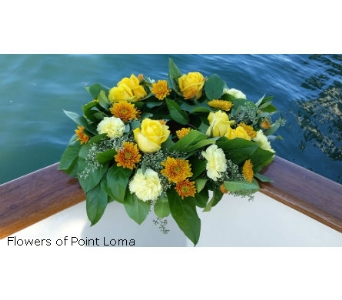Bio-Wreath in San Diego CA, Flowers Of Point Loma