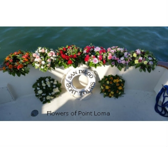 Bio-Wreaths in San Diego CA, Flowers Of Point Loma