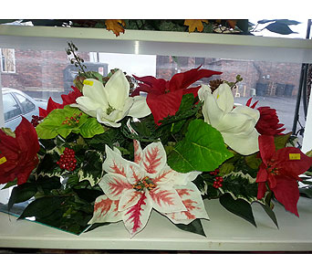 Holiday Monument Topper in Statesville NC, Brookdale Florist, LLC