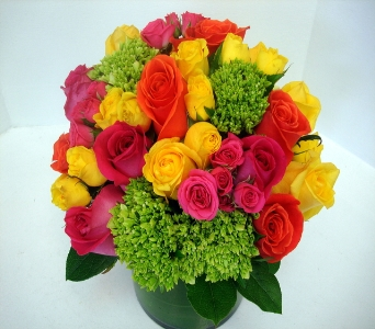 Colorful and Chic in San Francisco CA, Fillmore Florist