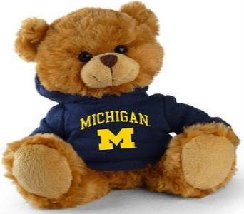U of M Teddy Bear in Perrysburg & Toledo OH - Ann Arbor MI OH, Ken's Flower Shops