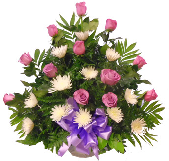 Purple Hearts in Winston-Salem NC, George K. Walker Florist