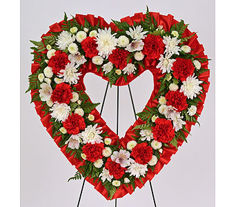 Cherished Memories Heart in Indianapolis IN, Gillespie Florists