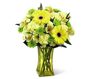 Lemon Groove Bouquet in Kingston ON, Pam's Flower Garden