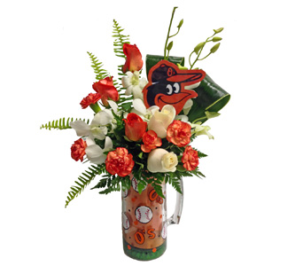 Baltimore O''s in Baltimore MD, Raimondi's Flowers & Fruit Baskets