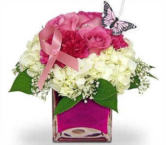 Get Your Pink On by Nature Nook� in Cleves OH, Nature Nook Florist & Wine Shop