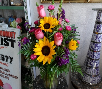 Sunflower Sorbet in Henderson NV, Beautiful Bouquet Florist