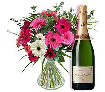 Flowers and Champagne in San Antonio TX, Allen's Flowers & Gifts
