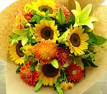 Sunflower Harvest in North Vancouver BC, Special Moments Flowers And Gifts