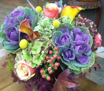 Fall Cylinder in New York NY, Embassy Florist, Inc.