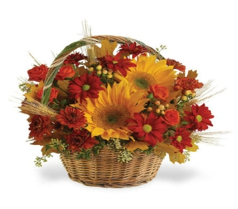 Fall Favorites Basket in Big Rapids, Cadillac, Reed City and Canadian Lakes MI, Patterson's Flowers, Inc.