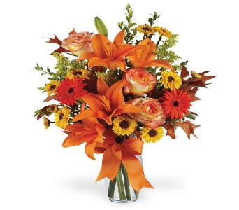 Burst of Autumn in Big Rapids, Cadillac, Reed City and Canadian Lakes MI, Patterson's Flowers, Inc.