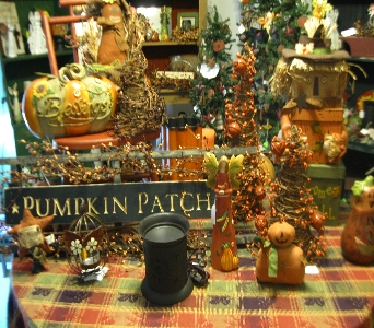 Fall decor in Oakland City IN, Sue's Flowers & Gifts