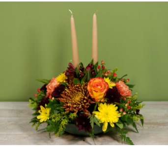 The Wantagh Thanksgiving Centerpiece in Merrick NY, Feldis Florists